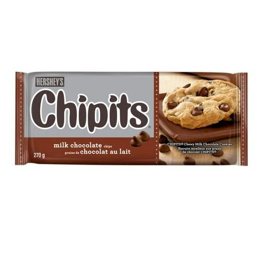 Hershey's Chipits Milk Chocolate 270g