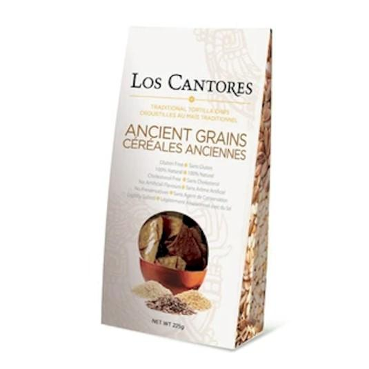 Los Cantores Ancient Grains Tortilla Chips 12pk 325g