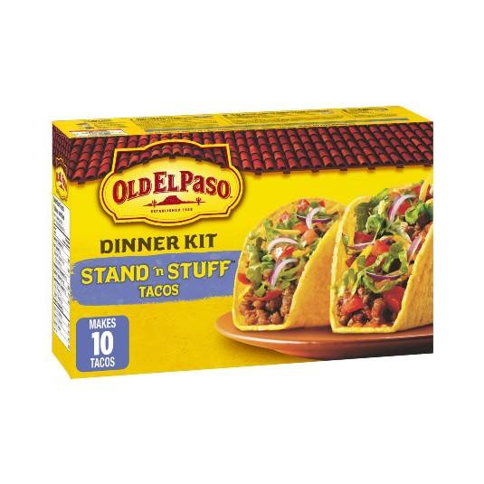 Old El Paso Stand & Stuff Taco Dinner Kit 250g