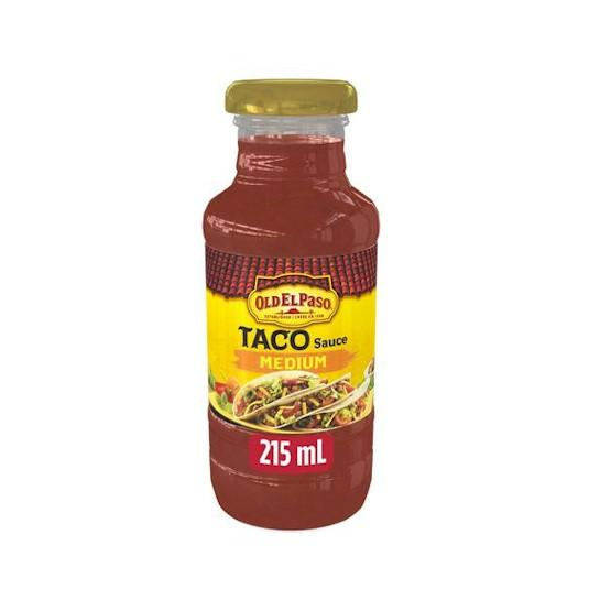 Old El Paso Taco Sauce Medium 215ml