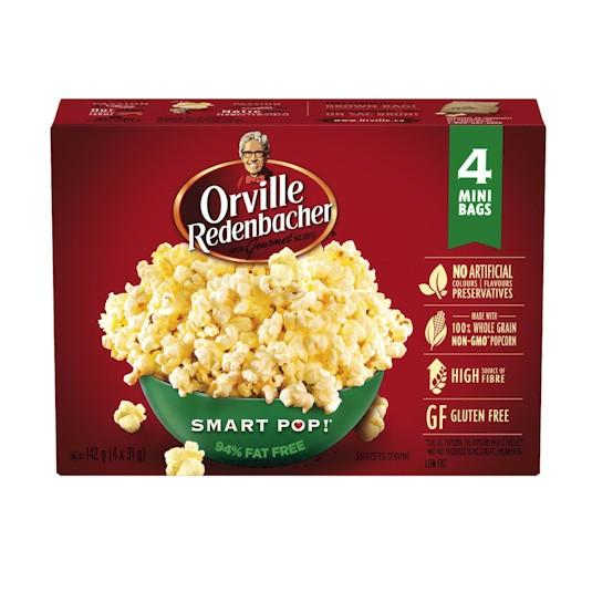 Orville Redenbacher Mini 4 Pack Smart Popcorn 124g