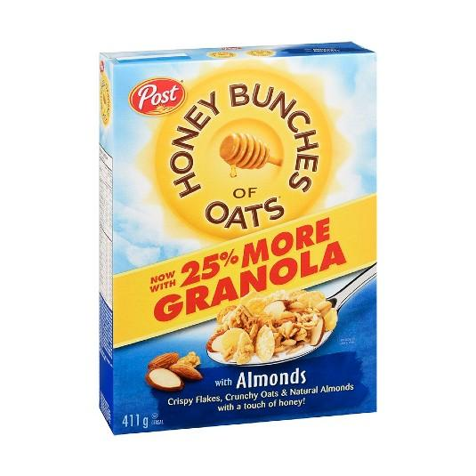 Post Honey Bunches of Oats Almond 411g