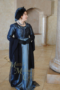 CUSTOM Evening Formal Regency Jane Austen Ball Gown Dress in your choice of colors