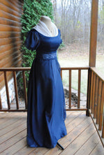 Load image into Gallery viewer, CUSTOM Regency Jane Austen Embroidered Gown Dress