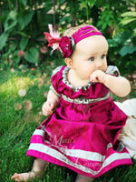 Load image into Gallery viewer, Childrens Regency Ball Gown Court Dress Outfit with dress and Tam CUSTOM size and color