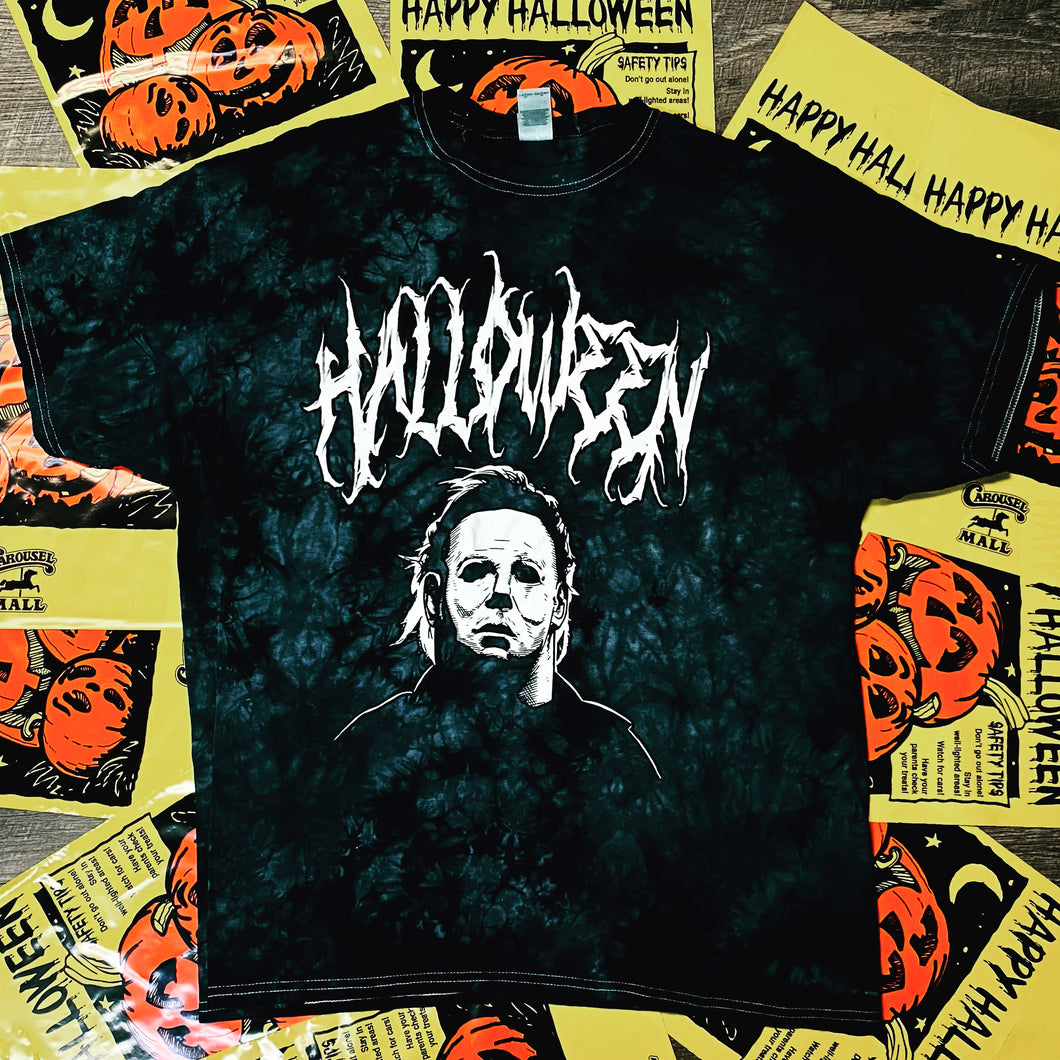 Black halloween seasonal shirt
