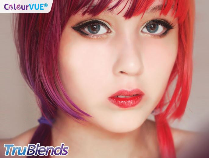 ColourVUE TruBlends One Day Wear Pack Of 5 Colour Contact Lenses