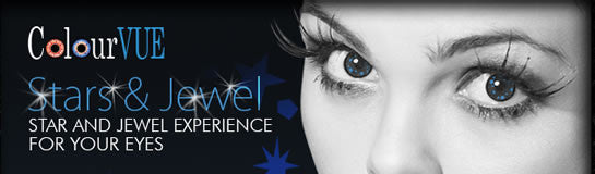 ColourVUE Star & Jewel Colour Contact Lenses