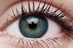 3 Tones Blue Colour Contact Lenses Pair