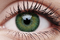 3 Tones Green Colour Contact Lenses Pair
