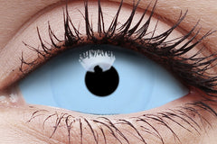 Sclera Athena Crazy Contact Lens in Eye