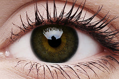 Big Eyes Awesome Black Colour Contact Lenses Pair 15mm