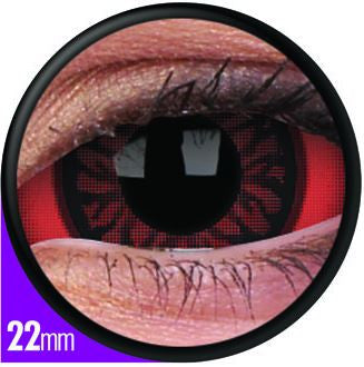 Sclera Carnage Contact Lenses Pair