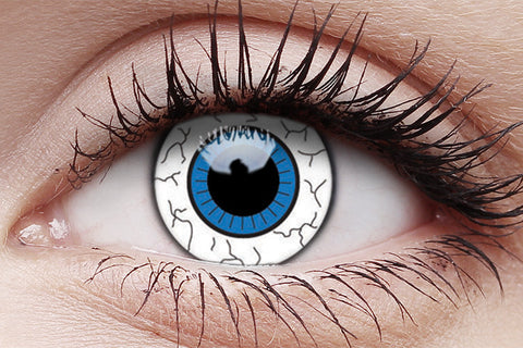 Comic Eye Crazy Contact Lenses Pair