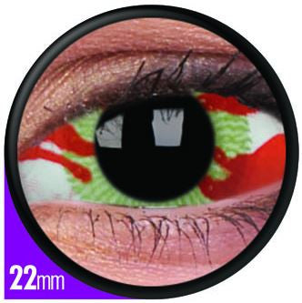 Sclera Contagion Contact Lenses Pair