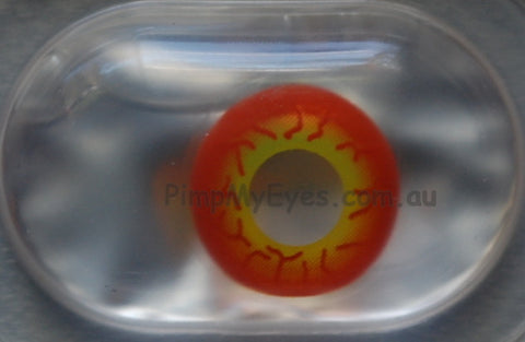 Actual product in Blister - Darth Maul Crazy Contact Lenses