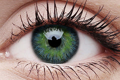 Fusion Yellow Blue Colour Contact Lenses Pair