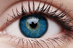 Glamour Blue Colour Contact Lenses Pair