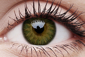 Glamour Green Colour Contact Lenses Pair