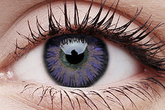 Glamour Violet Colour Contact Lenses Pair