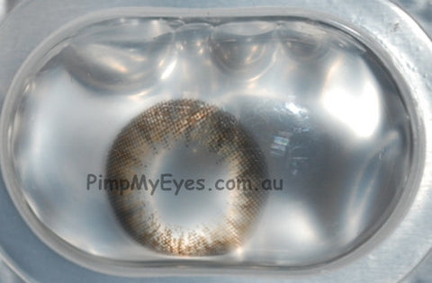 Actual product in Blister - Gorgeous Grey Colour Contact Lenses