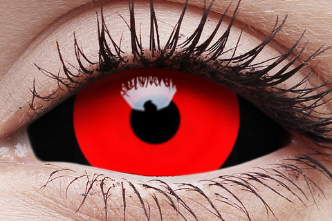 Sclera Gremlin Crazy Contact Lens in Eye