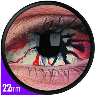Sclera Locus Contact Lenses Pair