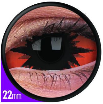 Sclera Omega Red Contact Lenses Pair