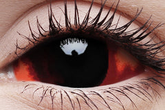Sclera Quasar Crazy Contact Lens in Eye