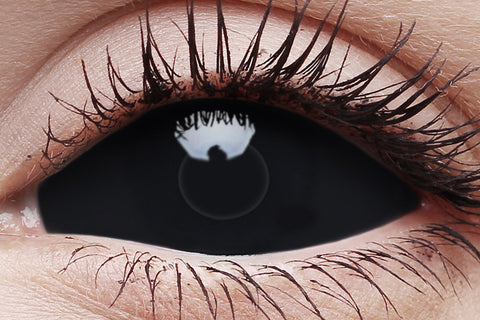 Sclera Sabretooth Crazy Contact Lens in Eye