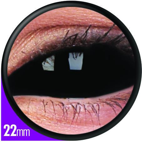 Sclera Sabreooth Contact Lenses Pair