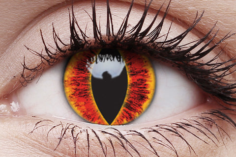 Saurons Eye Crazy Contact Lenses Pair