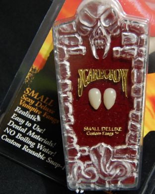 Scarecrow Vampire Fangs - Small DeLuxe