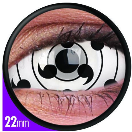 Sclera Tailed Beast Contact Lenses Pair