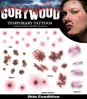 Tinsley Gorywood Temporary Tattoos - Skin Condition