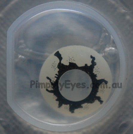 Actual product in Blister - Tremor Crazy Contact Lenses