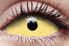 Sclera UV Amazo Crazy Contact Lens in Eye