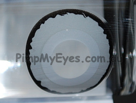 Actual product in Vial - Venus 17mm Crazy Contact Lenses