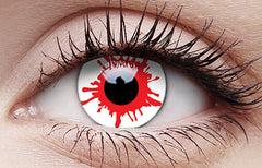 Wild Blood One Day Wear Crazy Contact Lenses Pair