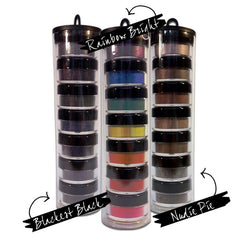 Nudie Pie Concrete Minerals Eye shadow stack