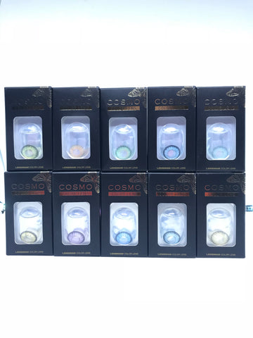 Choose any 10 Cosmo Colour Contact Lenses