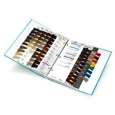 La Riche Directions Hair Dye Swatch Colour Chart