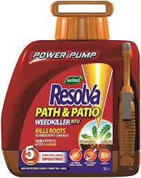 Resolva Path and Patio Power pump 5L