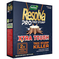 Resolva Xtra Tough Tree Stump Killer 2 sachets