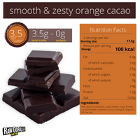 NEW Raw Gorilla Smooth & Zesty Orange Keto Chok