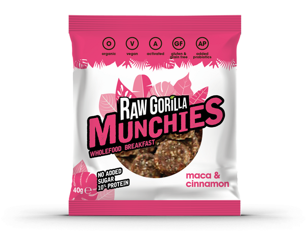 Raw Gorilla  Maca & Cinnamon Munchies (40g )