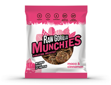Raw Gorilla Maca & Cinnamon Munchies (40g)