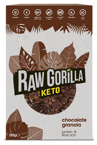 Raw Gorilla KETO  chocolate granola breakfast 250g