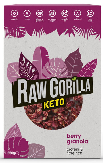 Raw Gorilla  berry granola KETO breakfast 250g