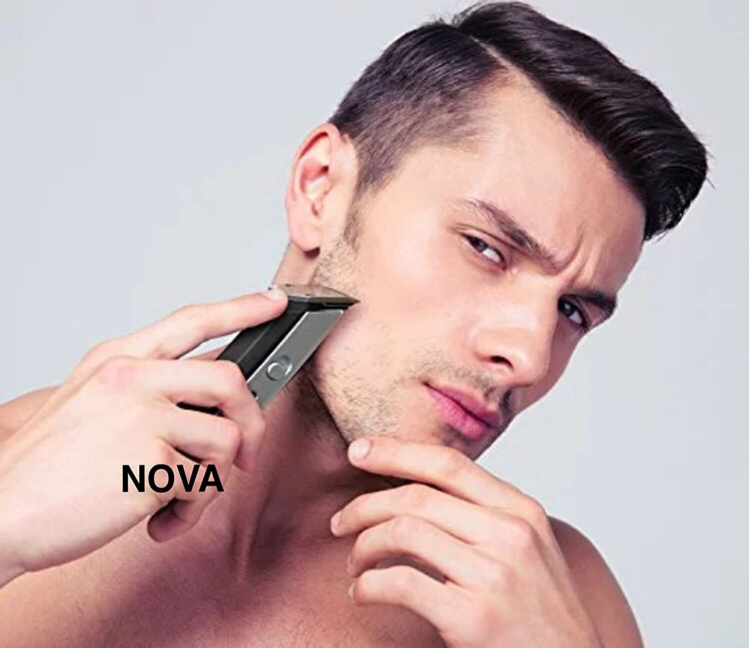 Nova NHT - 1047 Pro Skin Advance Rechargeable Cordless Beard Trimmer for Men